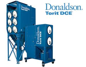 Odpylacz i wyciąg dymu Donaldson Torit DCE Downflo Oval